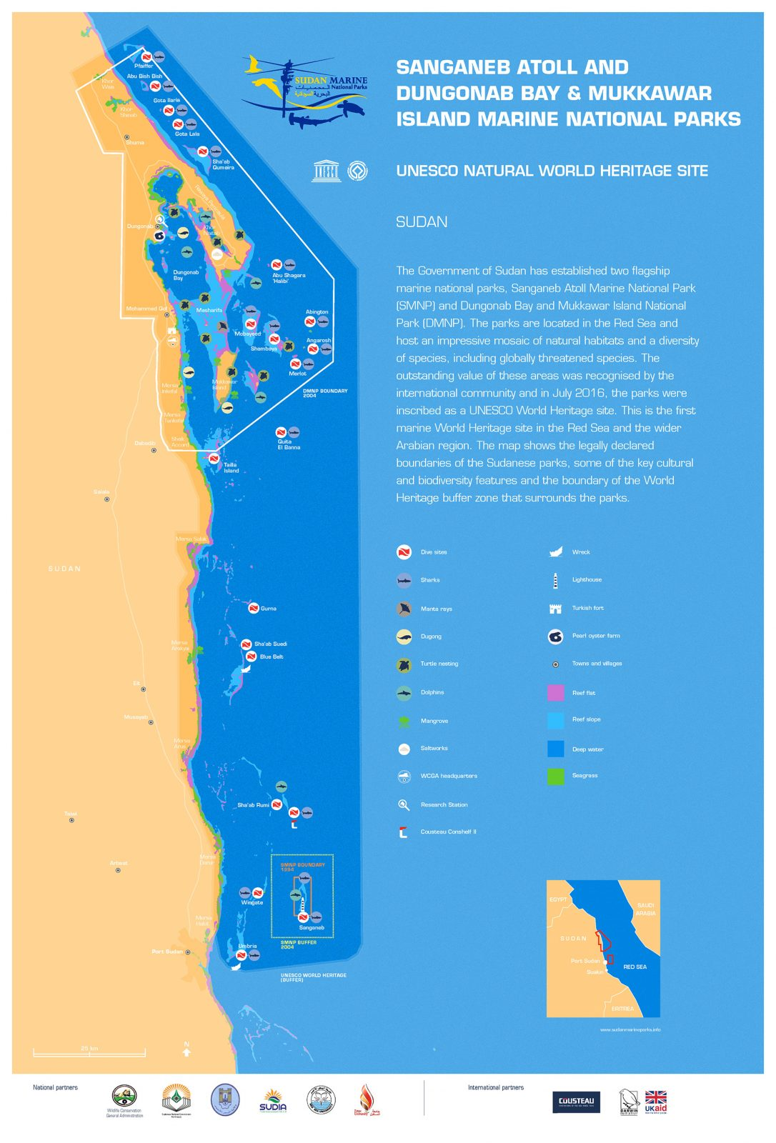 Sudan Marine Map